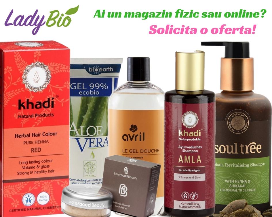 Cosmetice bio si produse de machiaj natural