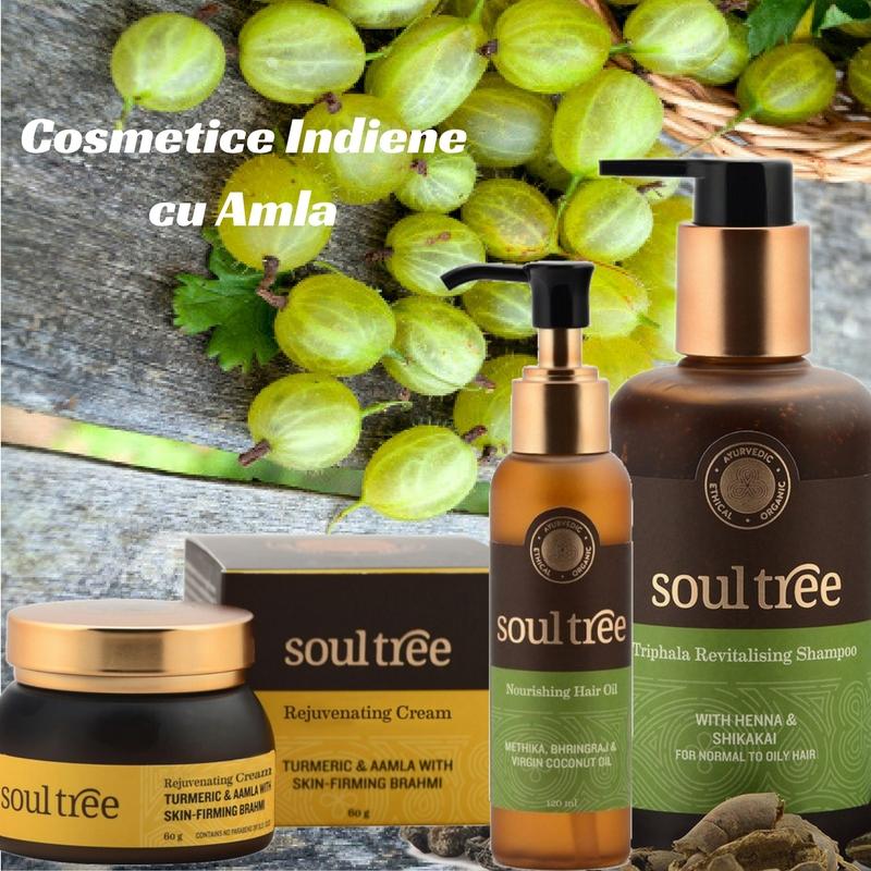 Cosmetice cu amla Soultree