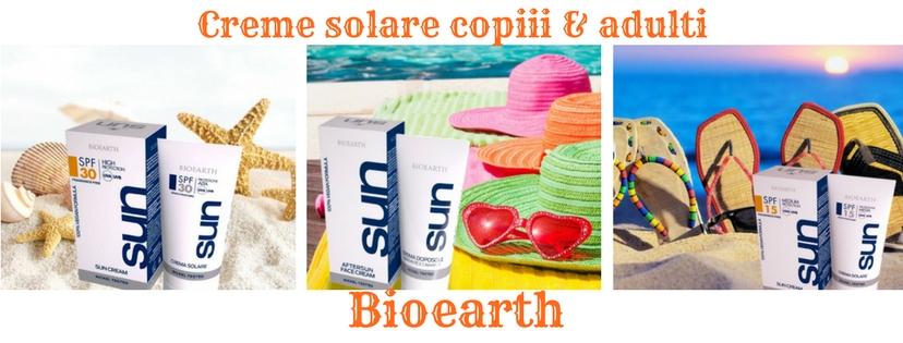 creme solare naturale  bioearth