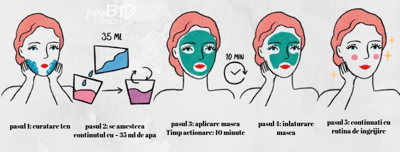 Masti peel off PuroBIO for skin